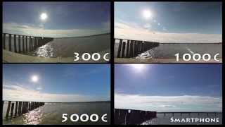 Timelapse - Which difference makes money? - Gopro3 vs. Eos600D vs. Eos5D vs. iPhone