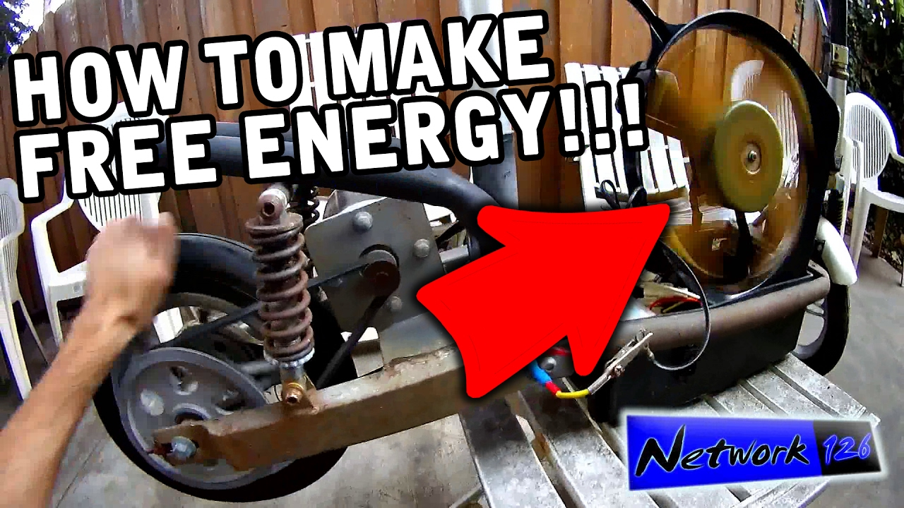 Free Energy Dc Motor Dc Generator From Electric