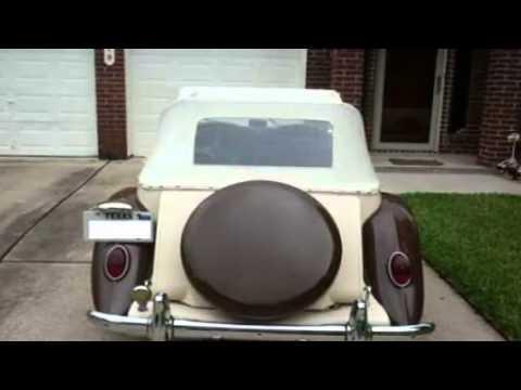 1952 MG TD Convertible Import Classic in Pasadena, TX