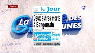 LA REVUE DES GRANDES UNES DU JEUDI 27 DÉCEMBRE 2018 - ÉQUINOXE TV
