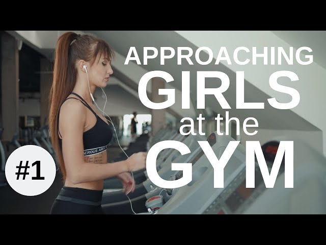 Approaching Girls at The Gym #1 - Talking To Girls on Treadmills - With Infield