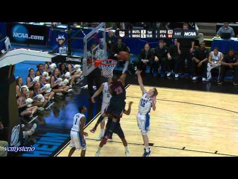 Derrick Williams 32pts vs. Duke (03.24.2011)- Power Put-Back Dunk + One-Handed Tomahawk!!