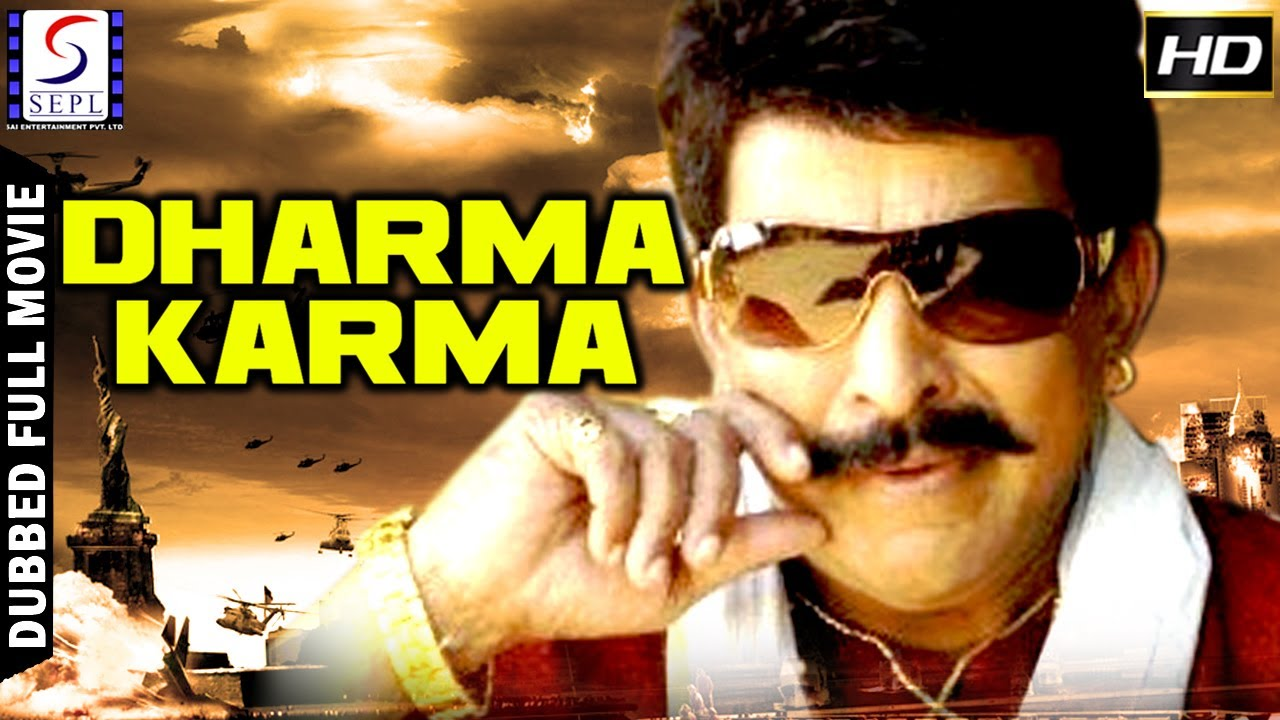 dharma karma l 2017 south action film dubbed in hindi