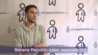 Banana Republic Interview - Sales Associate