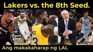 PREDICTION sa Makakatapat na 8TH seed ng Lakers sa 2020 NBA Playoffs.