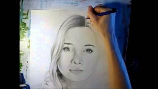 Olesya Rulin Speed Drawing