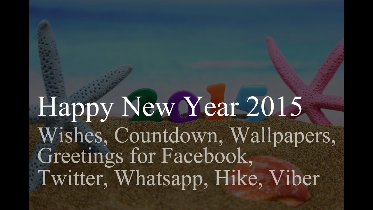 Happy New Year 2015 Wishes Countdown Wallpapers Greetings For
