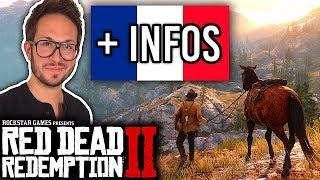 Gameplay FRANCAIS de Red Dead Redemption 2 + nouvelles infos
