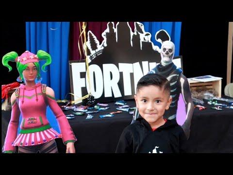 FORTNITE 🕺 BIRTHDAY PARTY ( IDEA'S )