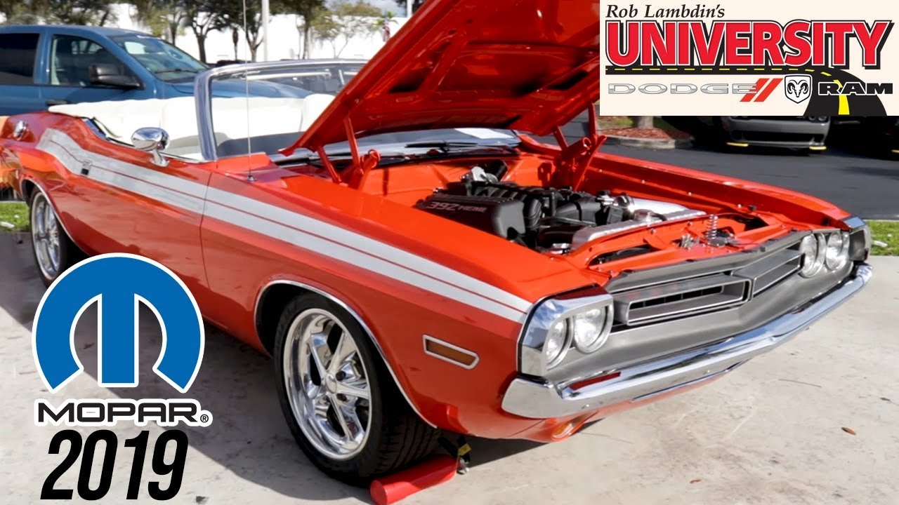 South Florida Car Shows: 2019 Florida MOPAR Nationals Car Show In South Florida