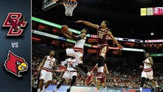 Boston College vs. Louisville Basketball Highlights (2015-16)