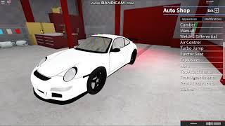 ROBLOX Vehicle simulator car review | New Porsche 911 Turbo