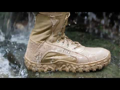 Rocky S2V Military Boot, and the New C4T Military Boot - YouTube