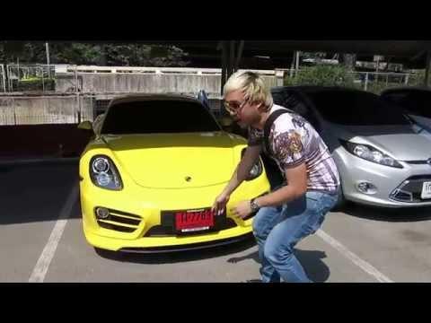 Porsche Cayman Kevlar Wrap Car www.tonywrap.com