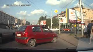Crazy Russian Woman Driver || WOF