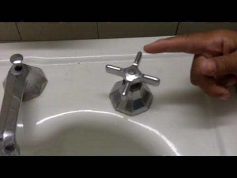 how to fix a tap washer