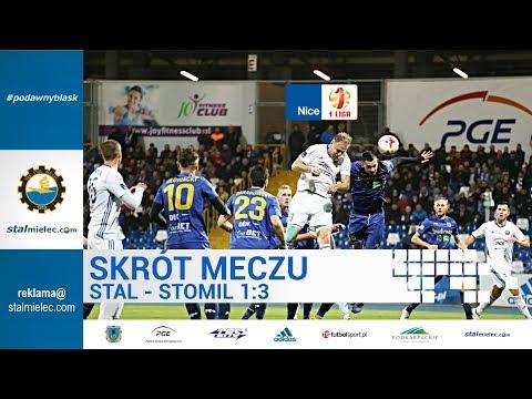 TV Stal: FKS Stal Mielec 1:3 Stomil Olsztyn SA. [SKRÓT]