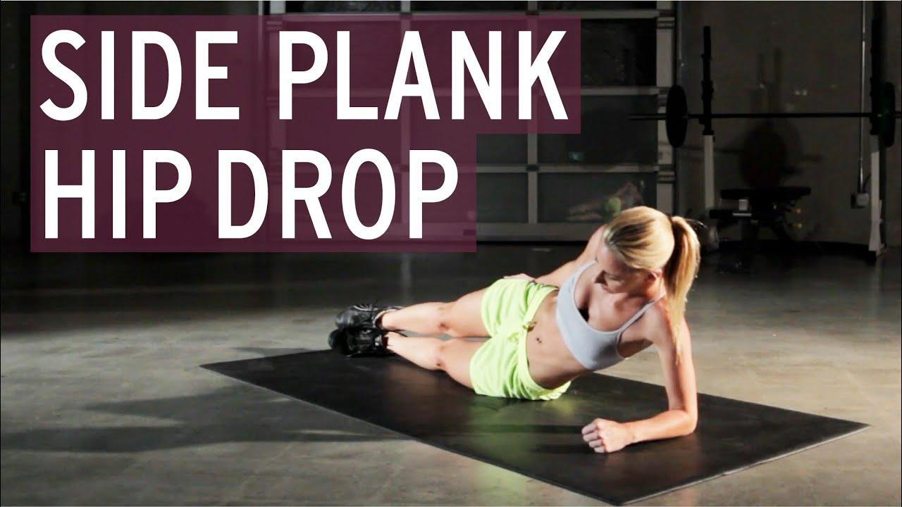 Side Plank Hip Drop  XFit Daily  YouTube