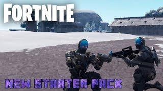 New Starter Pack in Fortnite!!! | Cobalt Skin Gameplay