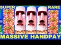 FULL SCREEN ★HANDPAY JACKPOT★ Great Moai Slot Machine $7.50 Max Bet ★SUPER RARE HANDPAY★ | Live Slot