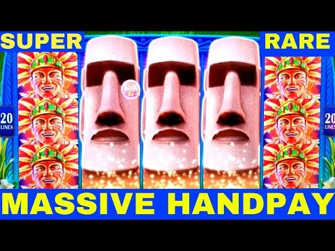 FULL SCREEN ★HANDPAY JACKPOT★ Great Moai Slot Machine $7.50 Max Bet ★SUPER RARE HANDPAY★   Live Slot