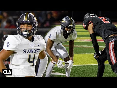 No. 1 HS Team St. John Bosco vs San Clemente: D1 PLAYOFFS ACTION! @SportsRecruits HSFB Highlights