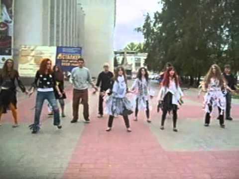 Флешмоб памяти Майкла Джексона г.Курск 2010