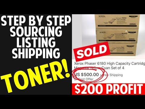 $200-profit-on-this-toner-flip-|-actual-example-|-ebay-step-by-step-tutorial!