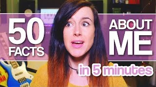 50 Facts About Me | Emma McGann