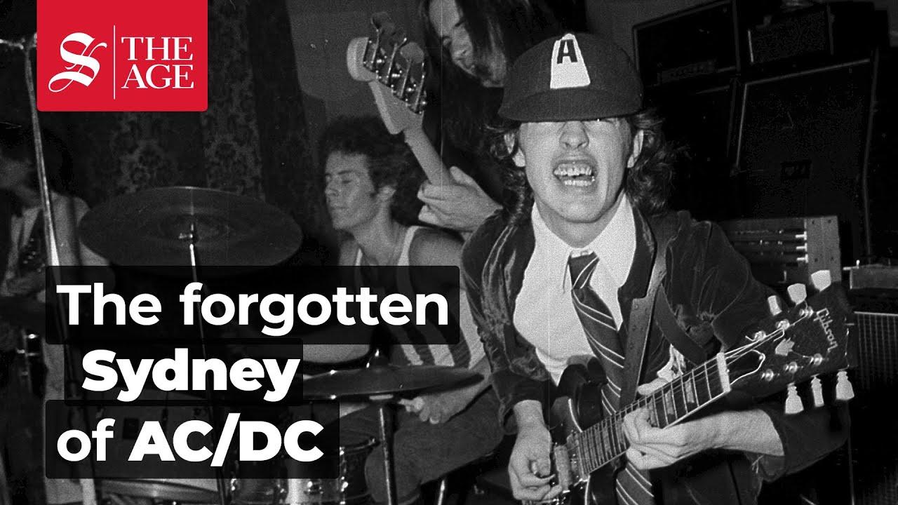 The forgotten Sydney of AC/DC