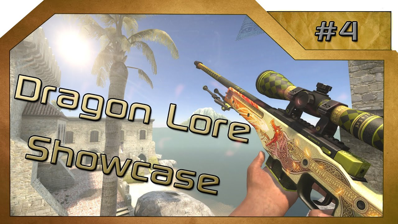 Cs Go Awp Dragon Lore Showcase Youtube - Imagez co