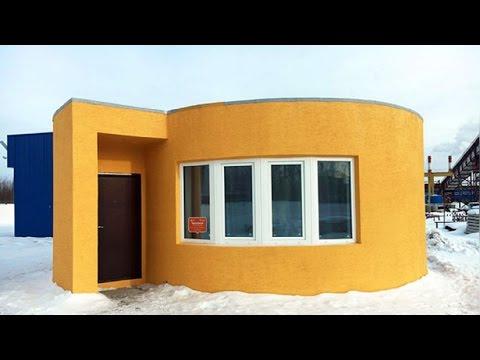 Revolución inmobiliaria: una impresora 3D construye casas en sólo 24 horas