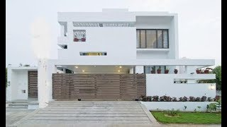 Cute Modern Double Floor House 1600 Sft for 16 lakh | Elevation | Interior
