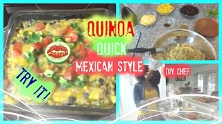 Quinoa Quick Mexican Style |the Andreka Bryant Show S2|