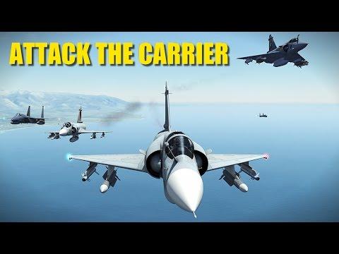 Ukraine Attacks Russian Aircraft Carrier | Viggen Mirage F-15 | DCS