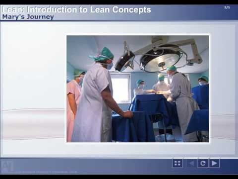 Lean Healthcare Courses: Concepts for Healthcare
