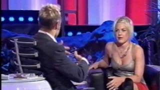 P!nk on The Graham Norton Show - 2003