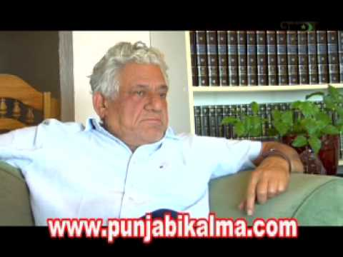 An interview with Om Puri  in Vancouver by Gurpreet Singh  - Part 1