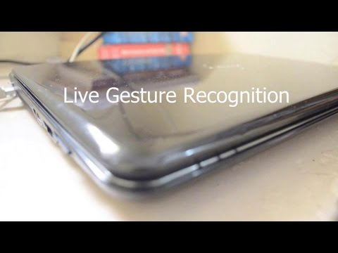 Live Gesture Recognition: Simplified (ITSP Project Video)