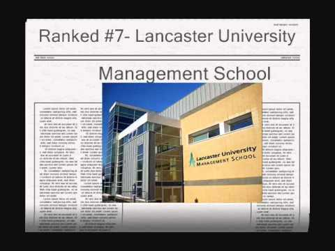 Top MBA universities in UK