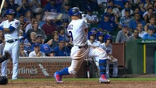PIT@CHC: Baez goes 4-for-6 wİth triple vs. Pirates