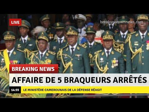 TOGO :  La fin du Faure Gnassingbe Régime -  Le braquage des militaires camerounais au Togo