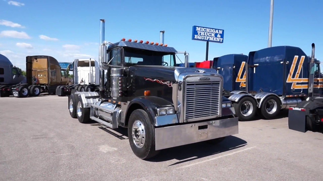 2001 freightliner fld120 classic xl straight piped. Black Bedroom Furniture Sets. Home Design Ideas