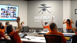 NASA's Ingenuity Mars Helicopter Successfully Completes First Flight
