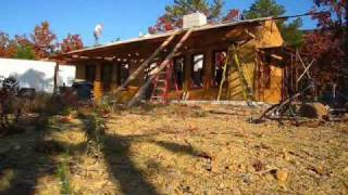 Installing Roof Plywood - The Hard Way...