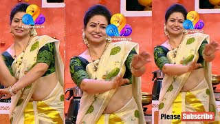 Mallu actress shalu abraham rare navel show