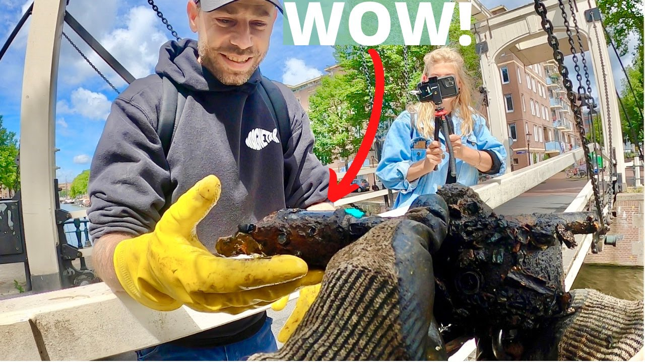 Most Amazing Magnet Fishing Find AND Restoration (you won't believe this!)