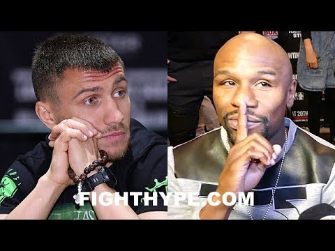 LOMACHENKO CHALLENGES MAYWEATHER TO STOP HIDING GERVONTA DAVIS; RESPONDS TO RECENT COMMENTS BY FLOYD