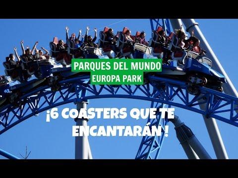 Las mejores coasters de Europa Park