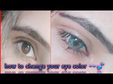 How to change your eye color 👀💕